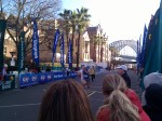 Runners at a Sydney Marathon at the finish line.
