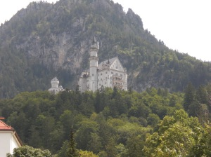 Neuschwanstein Castle in Germany. The Disney Castle design was based on this castle.