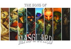 The Sons of Masguard by Vivienne Mathews is available on Amazon.