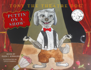 Tony the Theatre Dog - 9 x 7-3